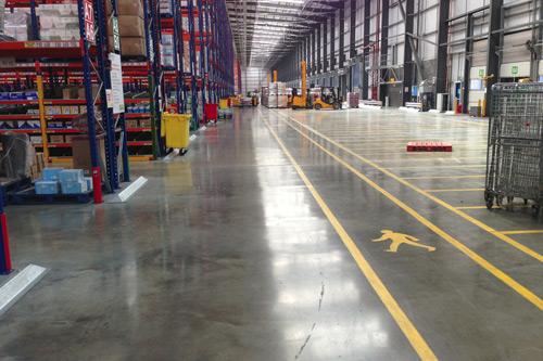 Stanford Industrial Flooring High Tolerance Concrete